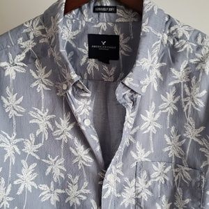 AE Palm Tree Long-Sleeved Seriously Soft Shirt